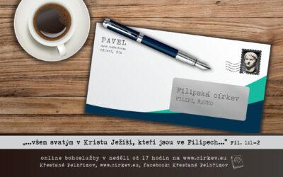 List Filipským – všem svatým v tu Ježíši