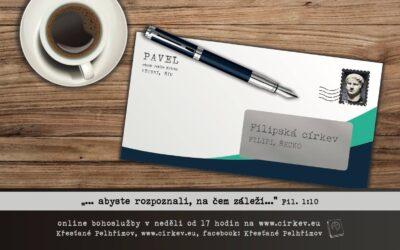 List Filipským – abyste rozpoznali na čem záleží
