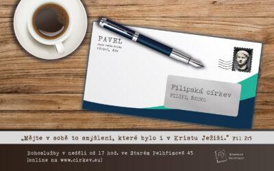 List Filipským – Mějte v sobě to smýlení..